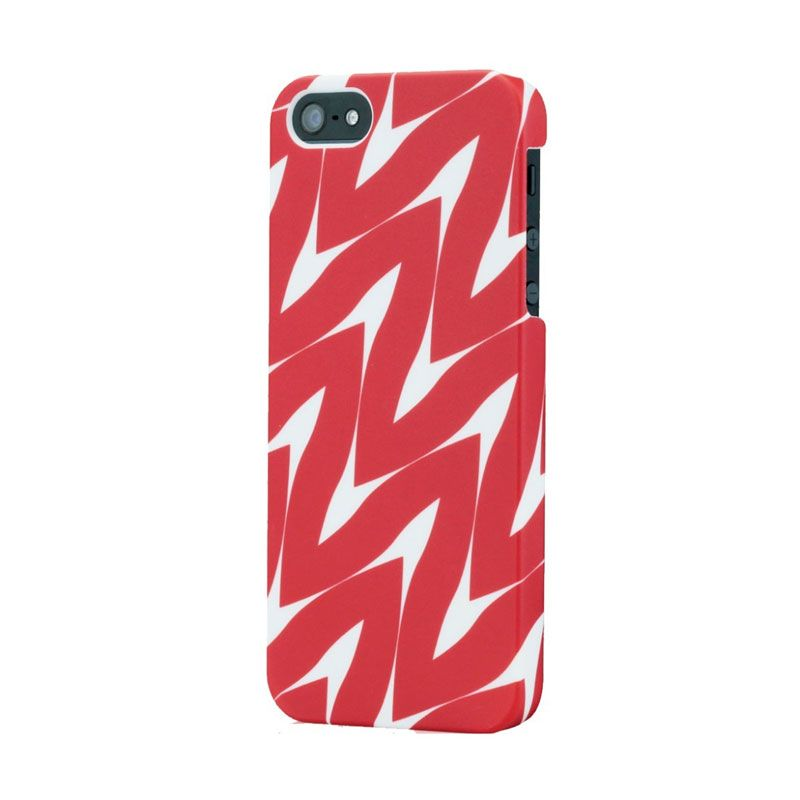 Tunewear Finland Series for iPhone 5 - Taimi ( Red )