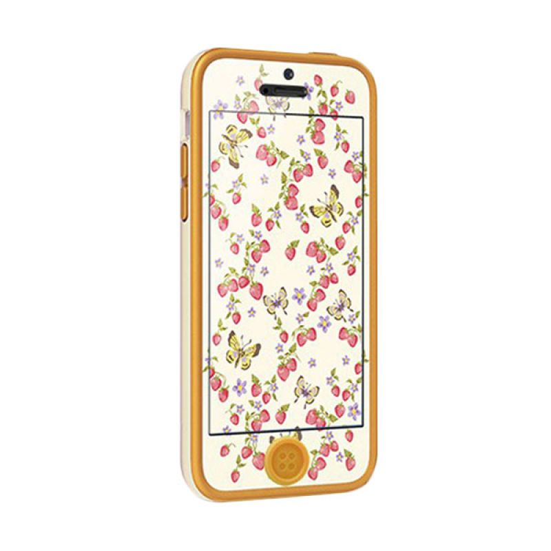 Tunewear PopTune for iPhone 5C - Berry & Butterfly (Butterfly)