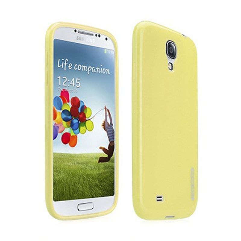 Tunewear Softshell for Samsung S4 - Yellow