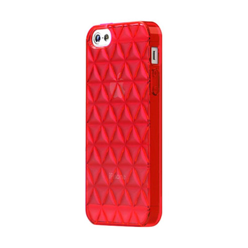 Tunewear TunePrism for iPhone 5 / 5S - Red