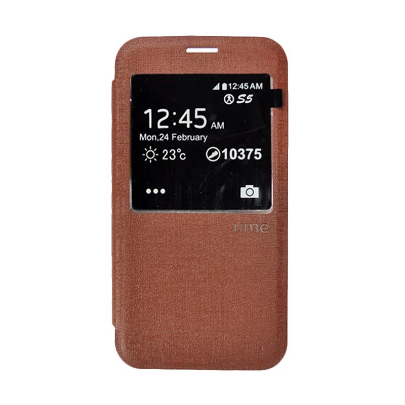 Ume Enigma S View for Samsung Galaxy S5 - Brown