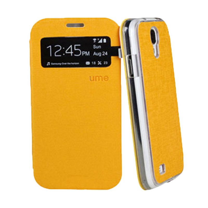 Ume Enigma Series S View for Samsung Galaxy S4 Mini - Yellow