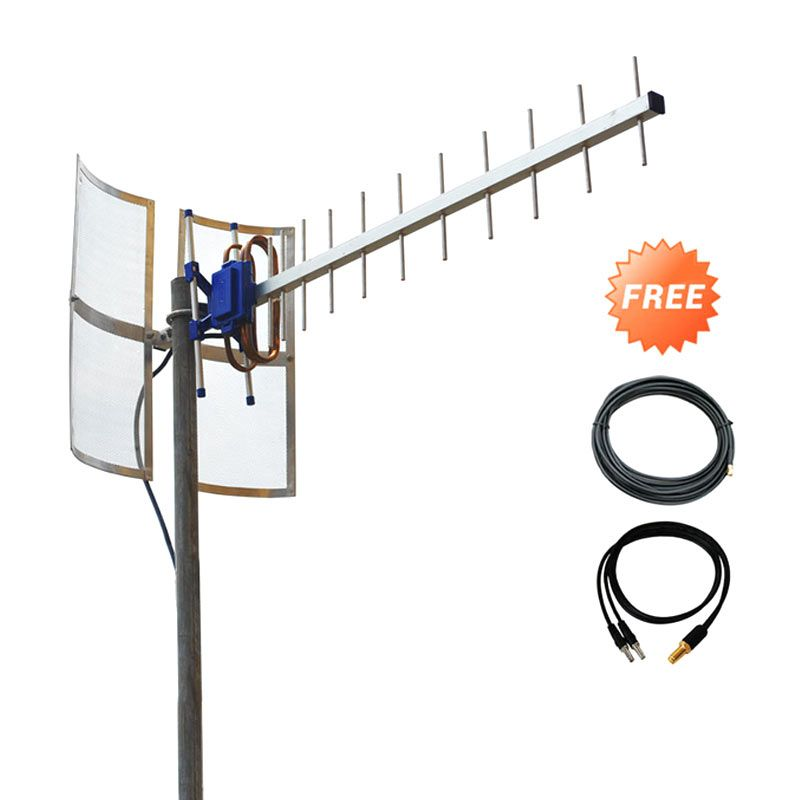 Antena Yagi TXR185 for Modem ZTE MF827 or MF75 or MF93D