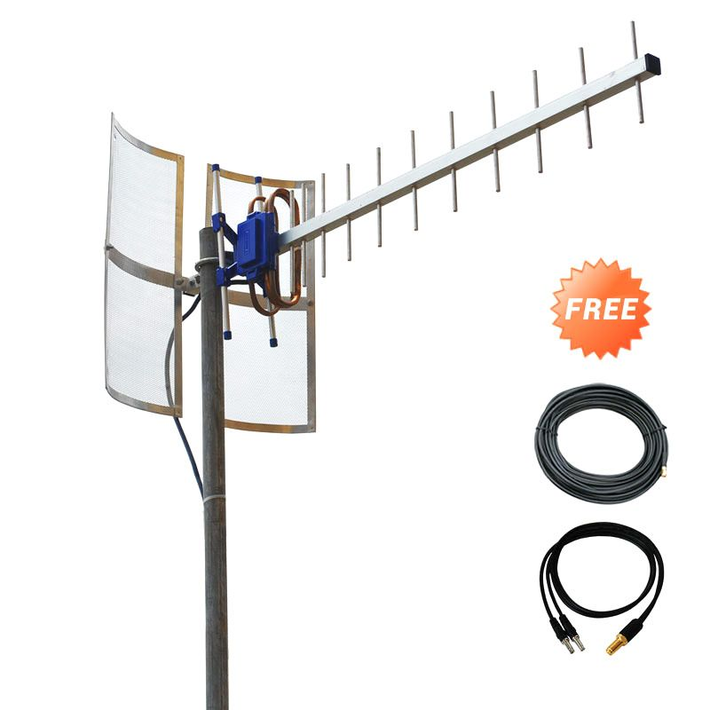 Antena Yagi TXR185 Penguat Sinyal for Modem BOLT Huawei E5372S Dual Pigtail