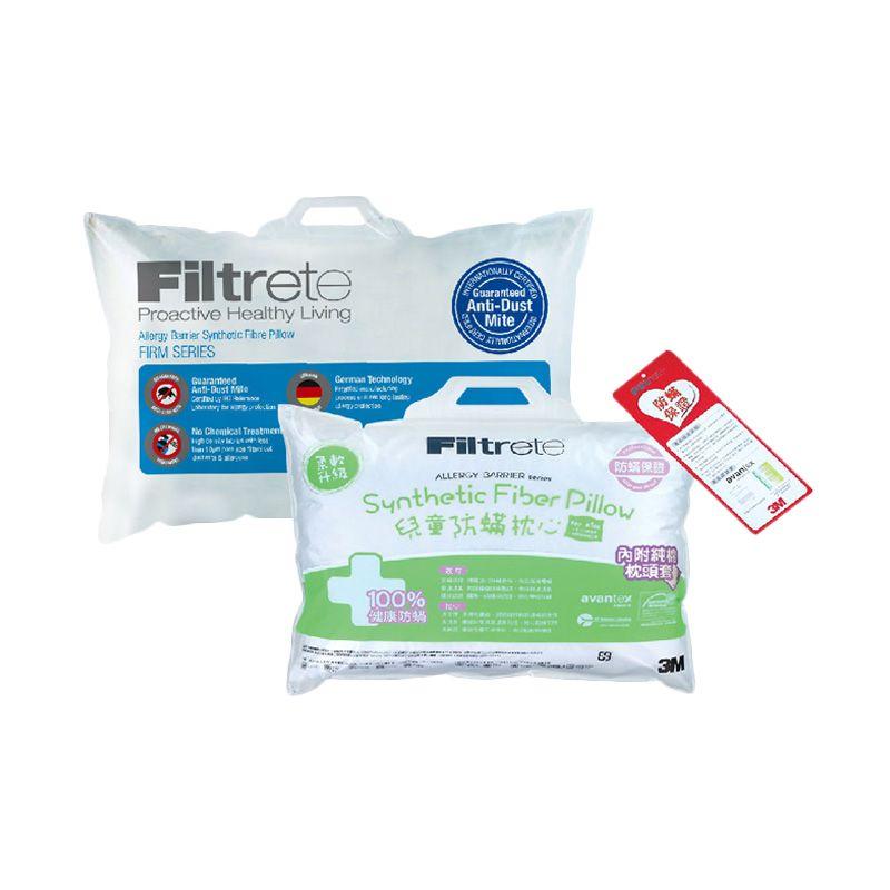 3M Bantal Anti Alergi 1 Comfort Firm & 1 Anak 6-11 tahun (Paket 6)