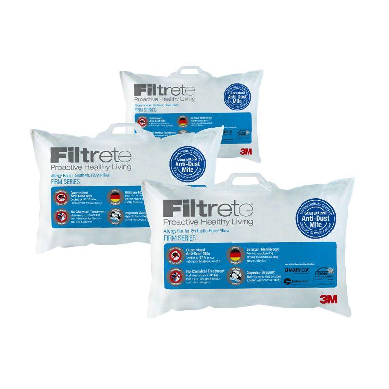 3M Bantal Anti Alergi 3 Comfort Firm (Paket 8A)