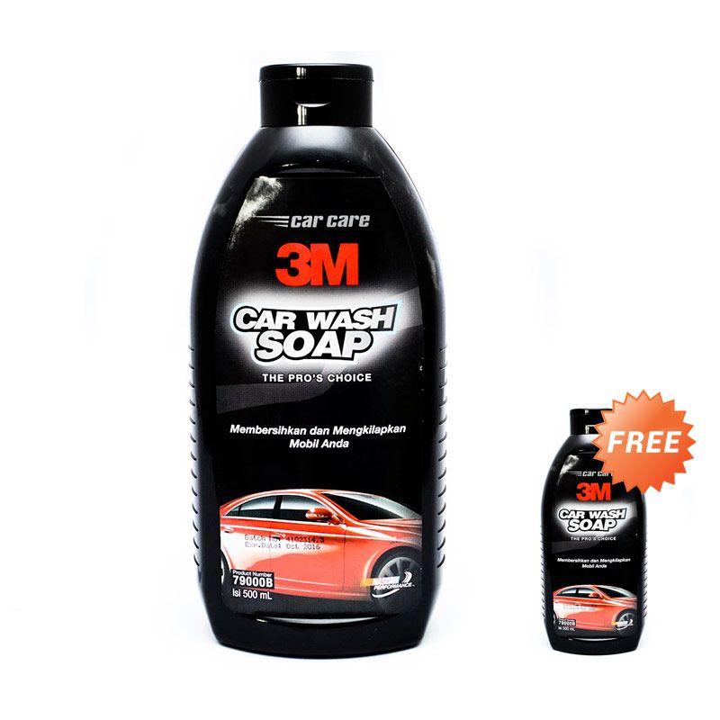 3M Car Shampoo Bottle 500 ML [Buy 1 Get 1 Free 3M Car Shampoo Bottle 500 ML]