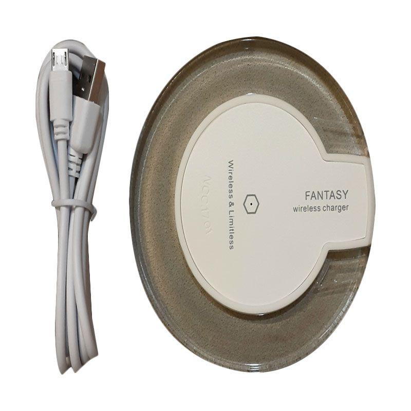 3T Universal Fantasy Enterprise Qi White Wireless Charging Pad