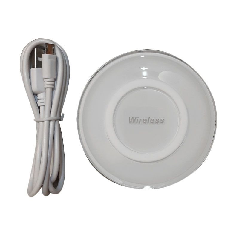 3T Universal Fantasy UFO Qi White Wireless Charging Pad