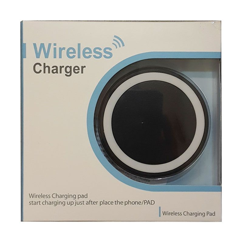 3T Universal Qi Black Wireless Charger Pad