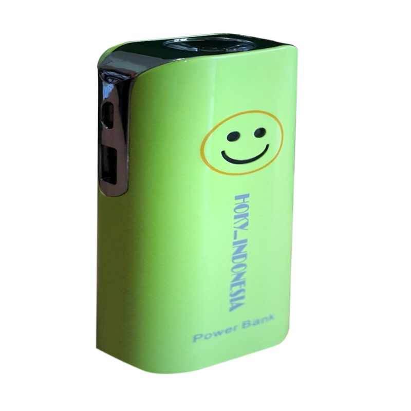 Hoky Hoky_Indonesia Green Powerbank [9800 mAh]