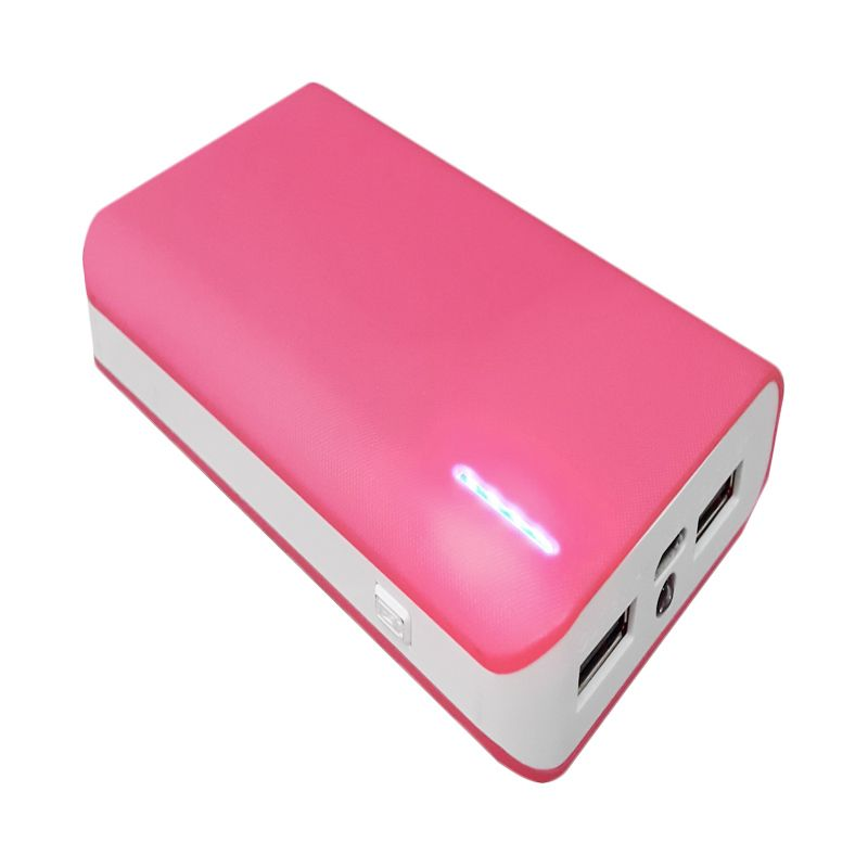 Hoky Indonesia Pink White Powerbank [12000 mAh]