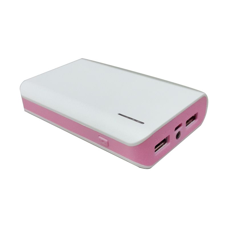 HOKY Indonesia Putih Pink Powerbank [12000 mAh]