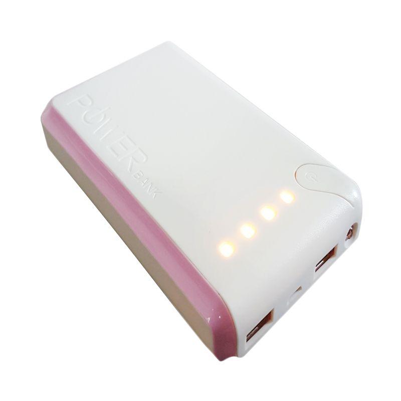 Hoky Indonesia Putih Pink Powerbank [22000 mAh]