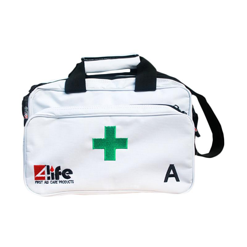 First Aid Kit White Bag Tipe A Sesuai PERMEN