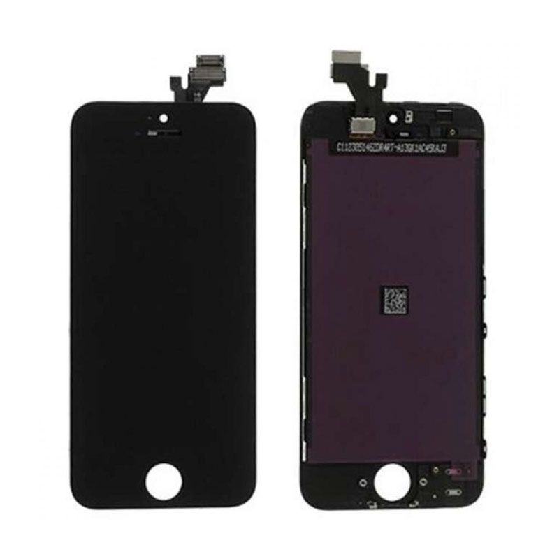 Apple Hitam LCD for iPhone 5 [Original]