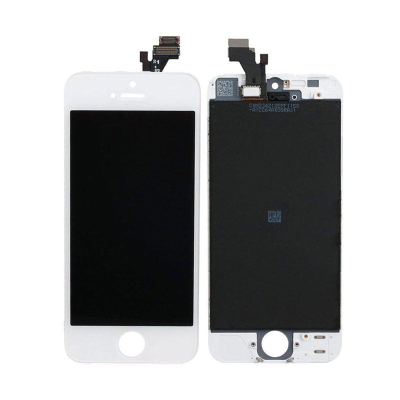 Apple Putih LCD for iPhone 5 [Original]