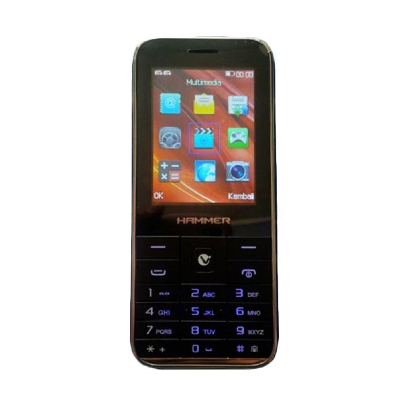 Advan Hammer R3C Black Handphone