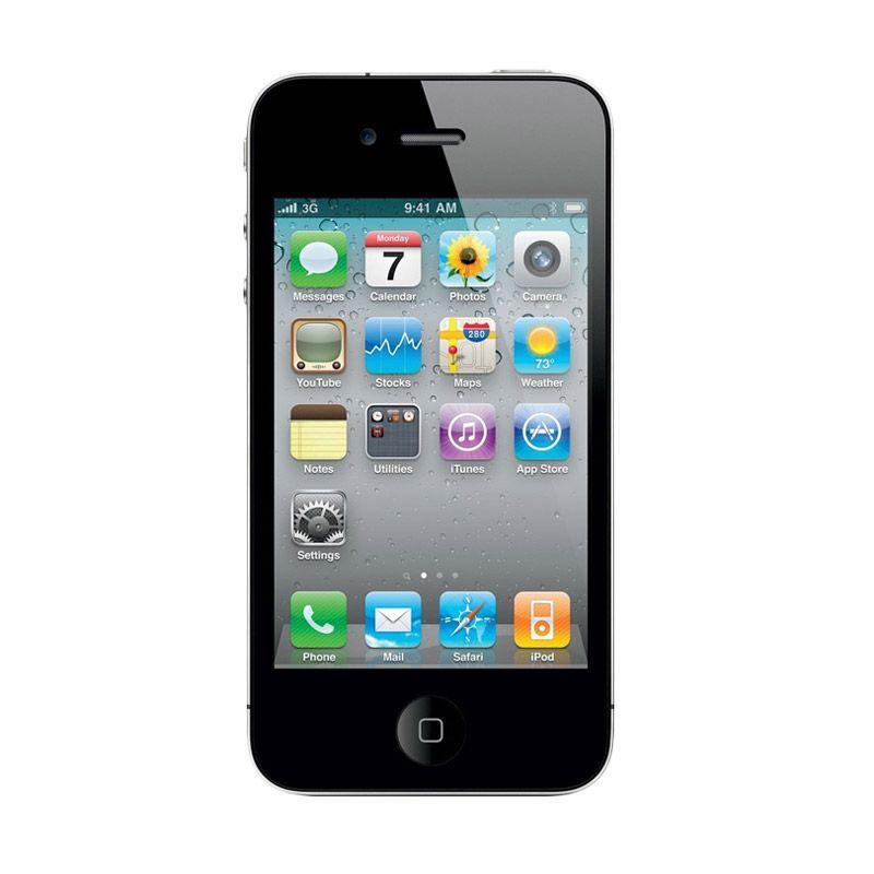 Apple iPhone 4S 64 GB Black Smartphone [Refurbish]