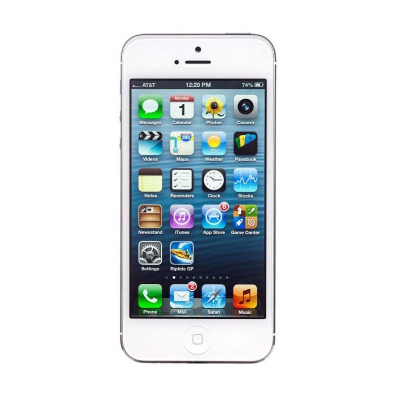 Apple iPhone 5 (Refurbish) 32 GB White Smartphone