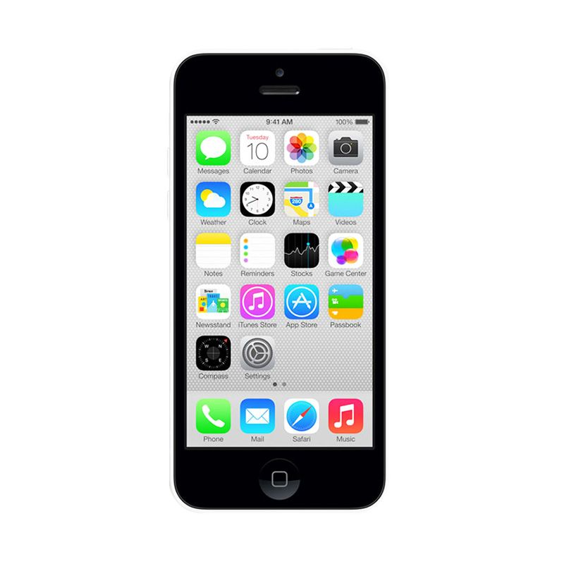 Apple iPhone 5c 32 GB White (Refurbish)  Smartphone