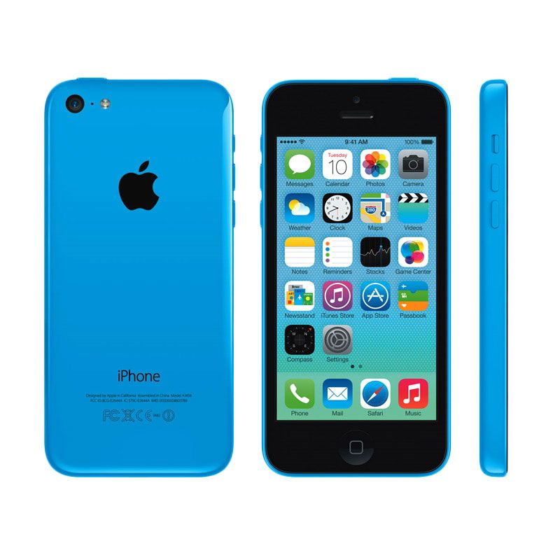Apple iPhone 5C 8 GB Blue (Refurbish) Smartphone