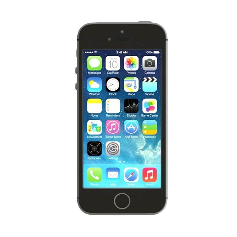 Apple iPhone 5S 16 GB Grey Smartphone [Refurbished]