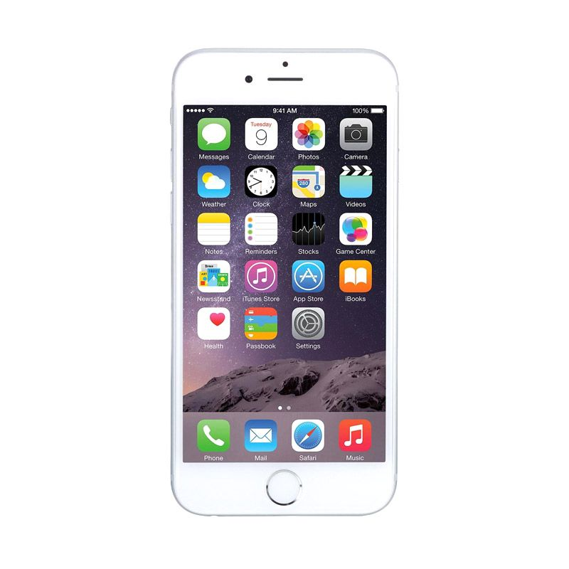 Apple iPhone 6 Plus 16 GB (Refurbish) Silver Smartphone