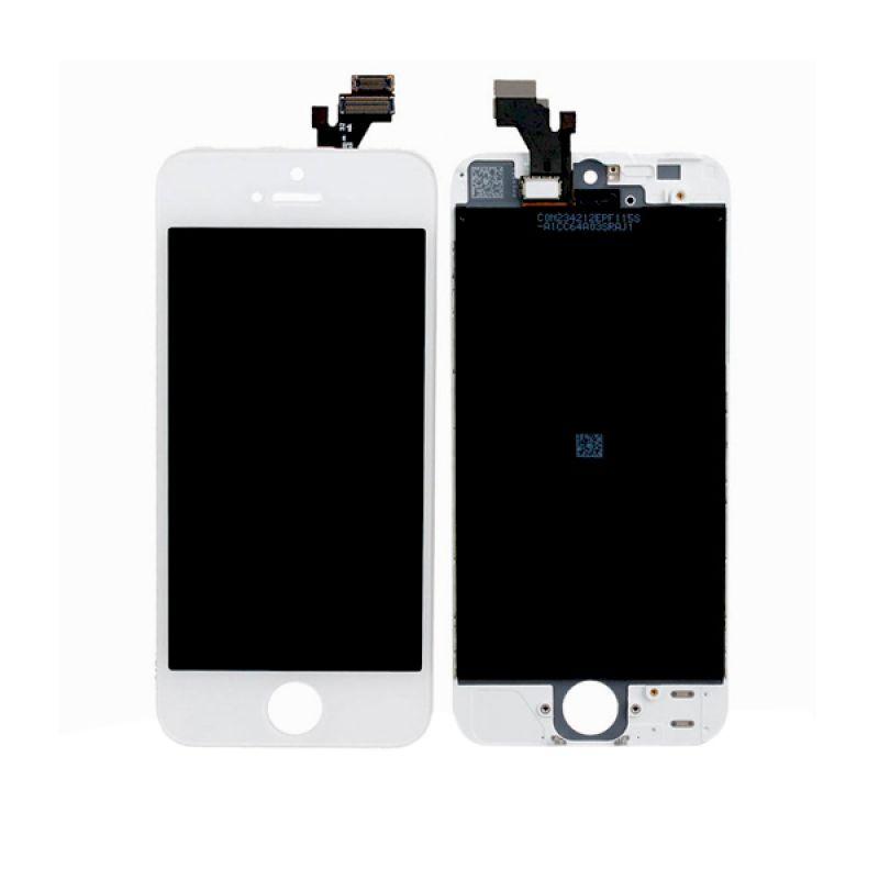 Apple Putih LCD for iPhone 5S [Original]