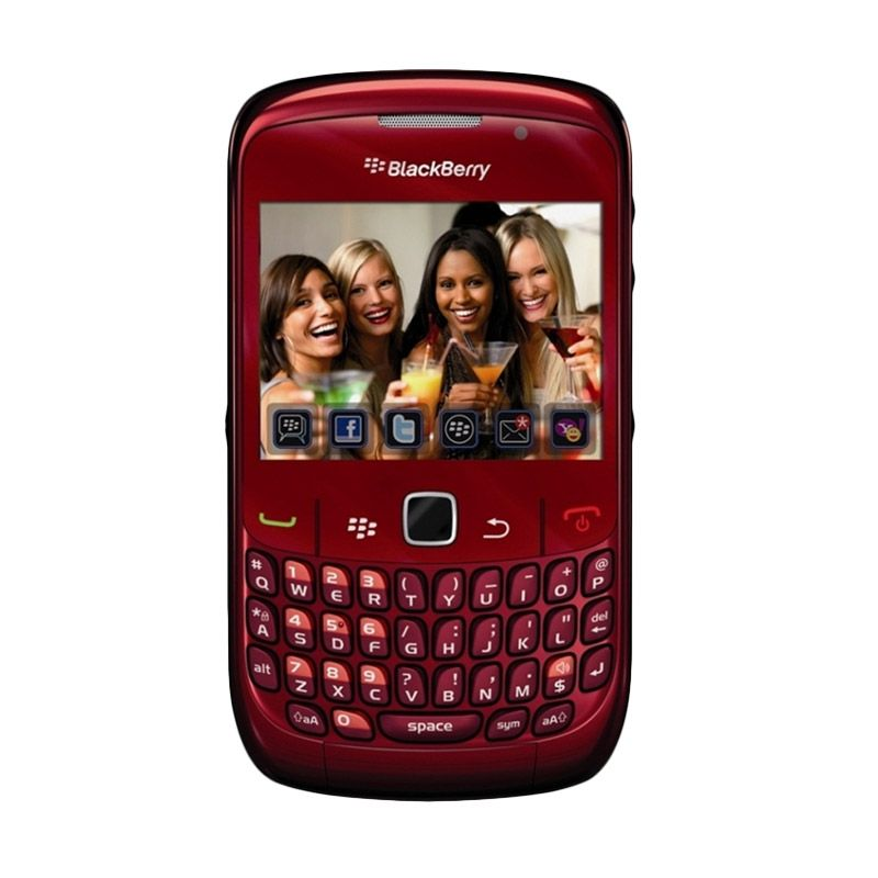 Blackberry Curve 8530 CDMA Red Smartphone