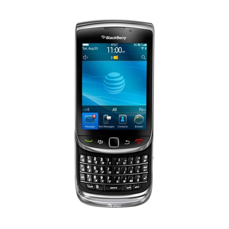 Blackberry Torch 9800 Hitam Smartphone