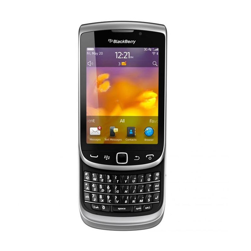 Blackberry Torch Jennings 9810 Grey Smartphone
