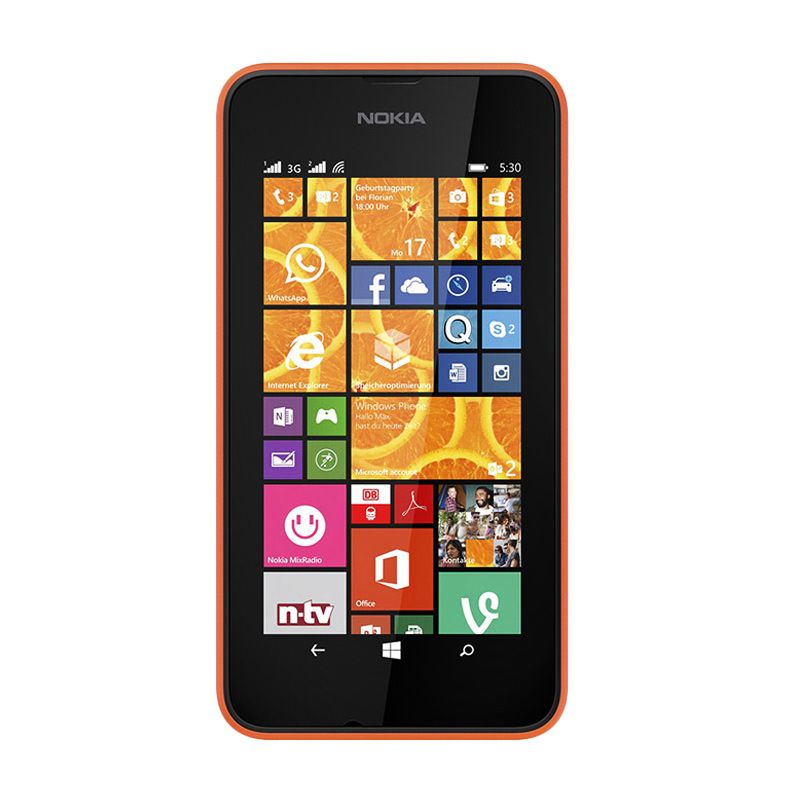 Nokia Lumia 530 Orange Smartphone
