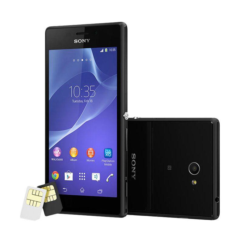 Sony Xperia M2 D2302 Black Smartphone [Dual SIM]