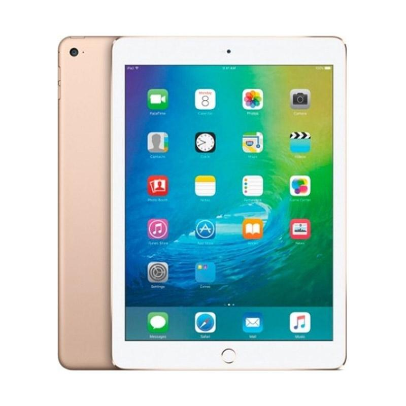 jual apple ipad air 2 128 gb tablet gold wifi online harga kualitas terjamin. Black Bedroom Furniture Sets. Home Design Ideas