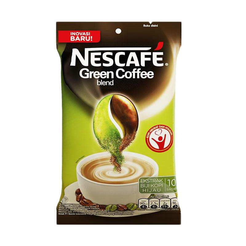 Jual Nescafe Green Coffee Blend Kopi Bubuk 200 G Online