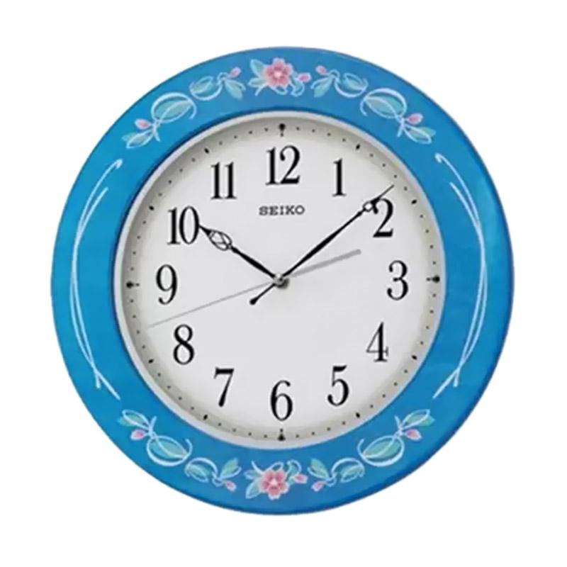 Jual Seiko Wooden Wall Clock