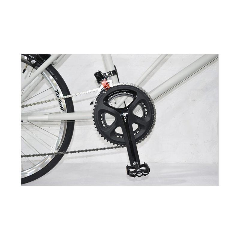 Jual TYRELL CX Minivelo Sepeda Lipat - Hazy Light Grey
