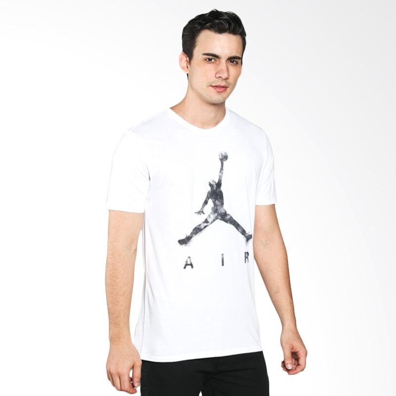 jual nike as jumpman air dreams putih kaos basket pria