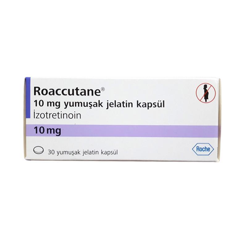 Jual Roche Roaccutane Pil Obat Jerawat [10 Mg] Online