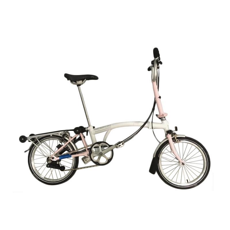 Jual Brompton M6r Sepeda Lipat White Cherry Blossom Online Harga Amp Kualitas Terjamin