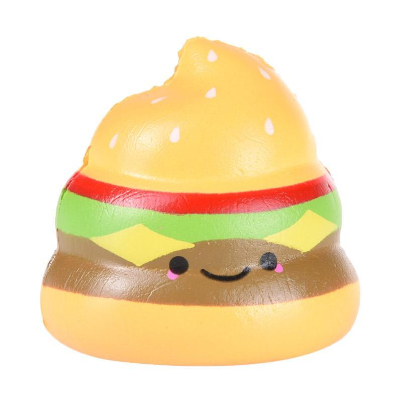Jual Squishy Crazy Poo Series 2 Burger Mainan Anak Online - Harga & Kualitas Terjamin Blibli.com