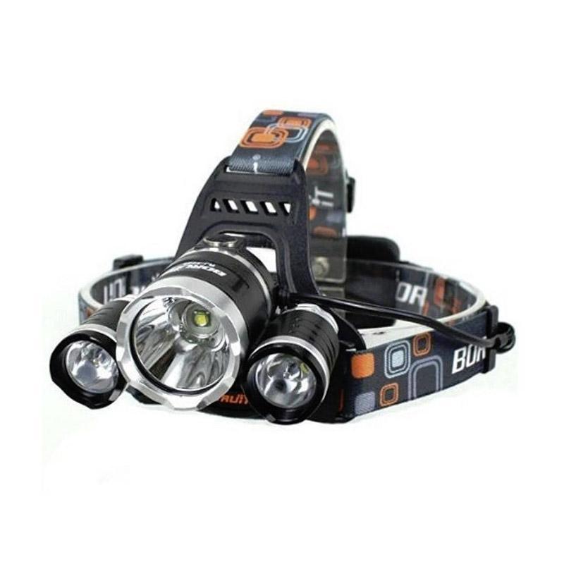 Jual OEM Cree XM-L T6 Headlamp Senter Kepala Online ...