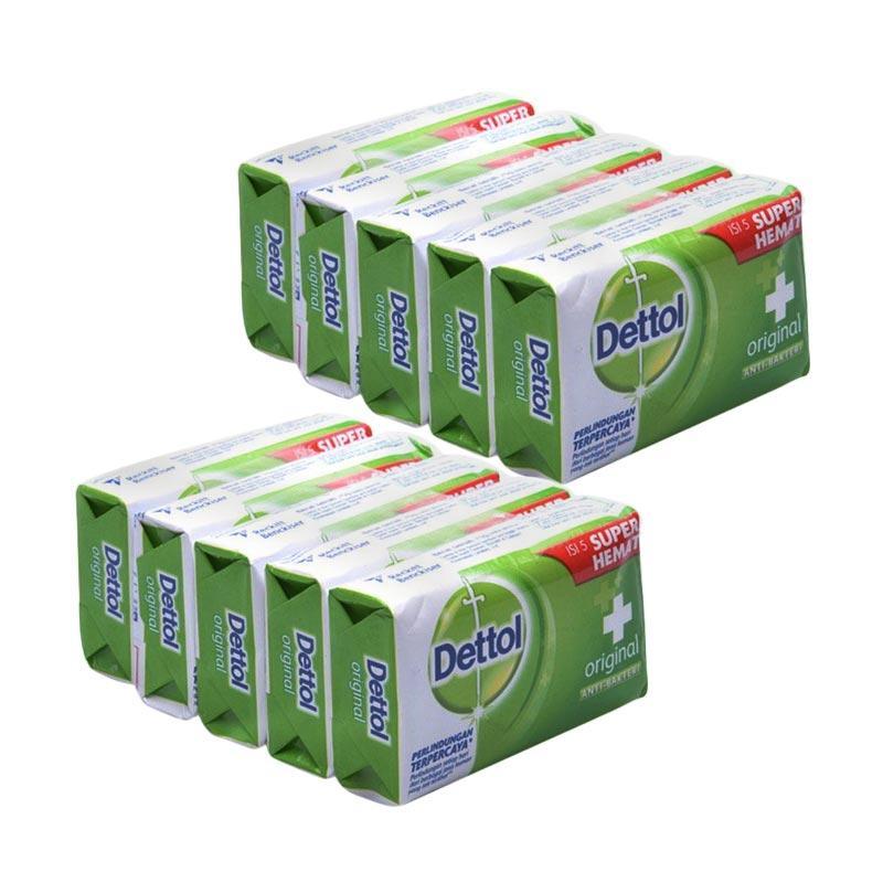 Jual Dettol Original Anti Bakteri Bar Soap Sabun Mandi