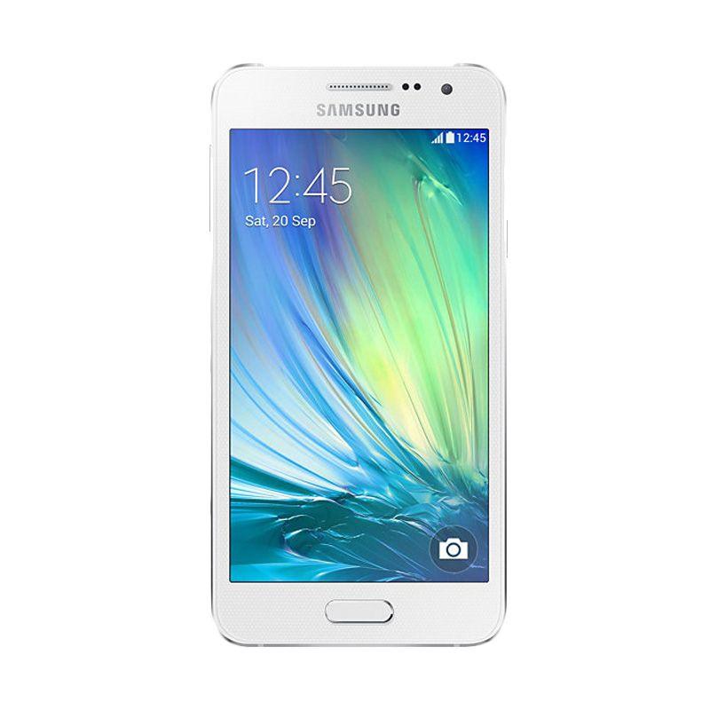 Samsung Galaxy A3 Putih Smartphone [16 GB]
