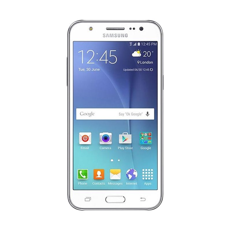 Samsung Galaxy J5 White Smartphone [Garansi Resmi]