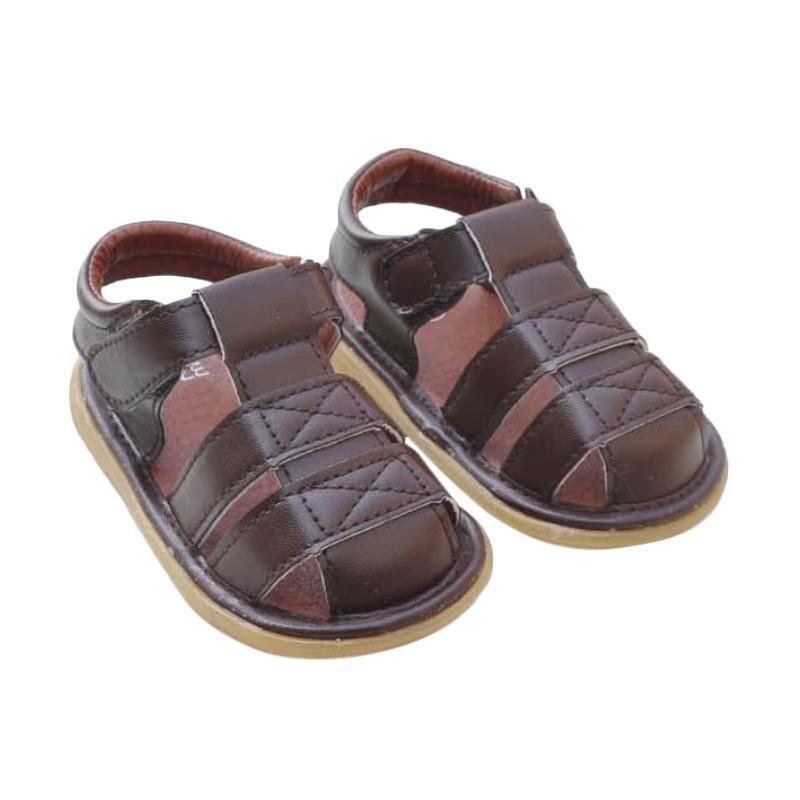 Jual Prewalker Sol Karet Sepatu Bayi - Coklat Online - Harga & Kualitas Terjamin