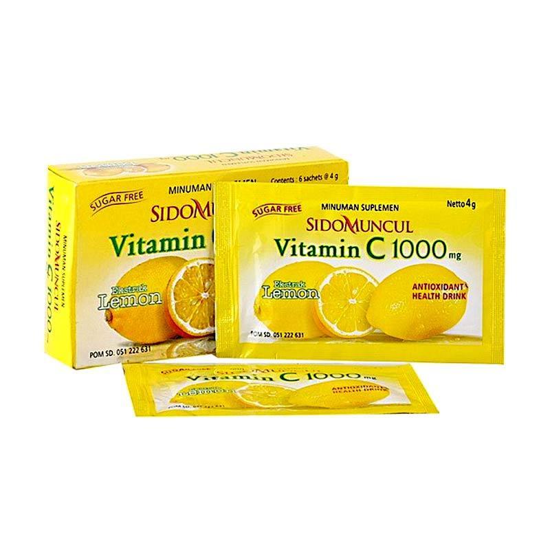 Vitamin C 1000 mg hochdosiert