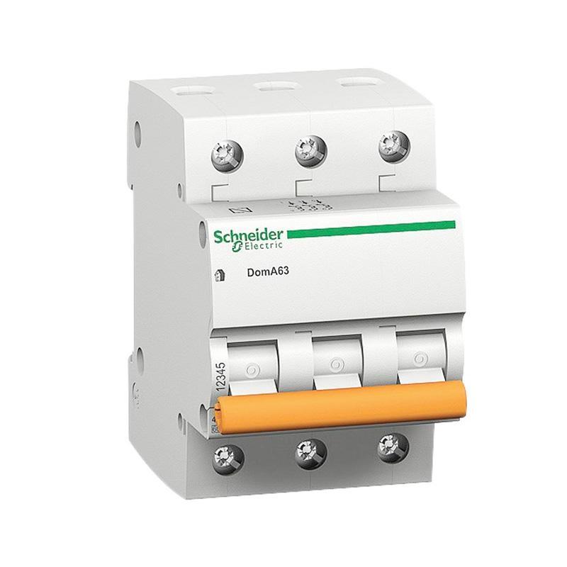 jual schneider c 16a 3p domae miniature circuit breaker 400 v 4500 a 3 phase 16 ampere online. Black Bedroom Furniture Sets. Home Design Ideas