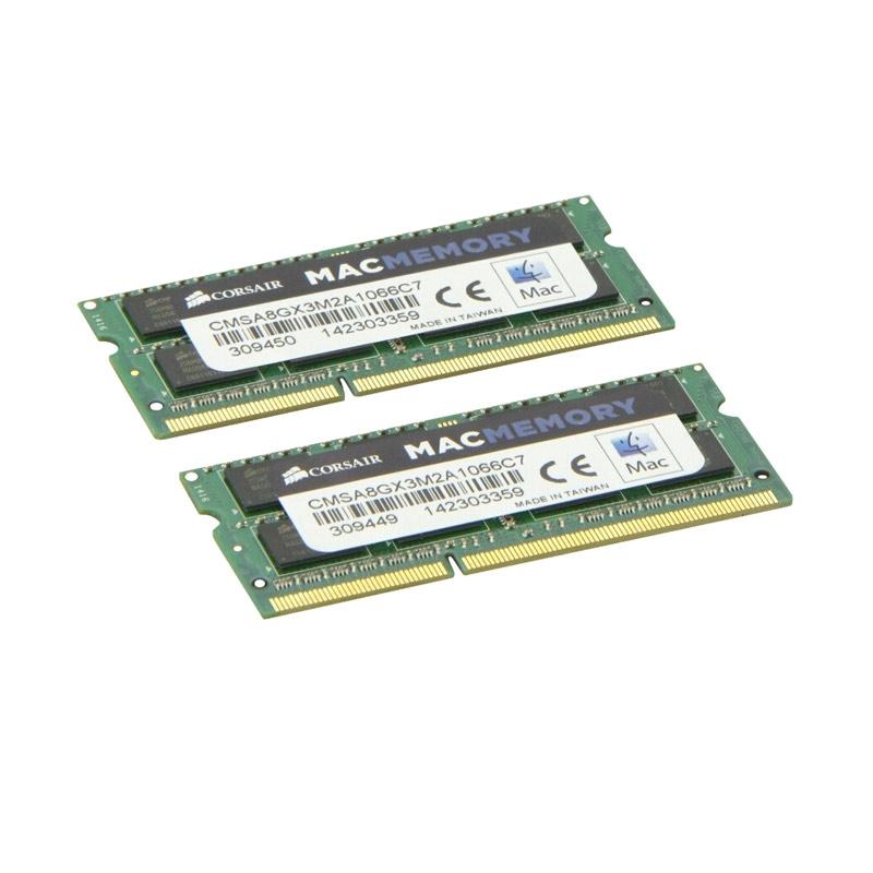 Jual Corsair Mac DDR3L SODIMM CMSA8GX3M2A1066C7 Memory RAM